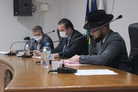 Mesa Diretora Sessão Extraordinária 23/03/2021