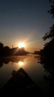 Rio Jaru por Gilmar Floriano