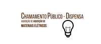 Aviso de Processo para aquisição de Materiais Elétricos