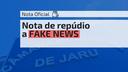 JARU: Nota de repúdio a FAKE NEWS realizada por meio de redes sociais