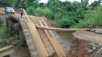 Vereadores alertam sobre situação de pontes e bueiros nas linhas de Jaru