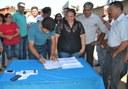 Vereadores participam da assinada da ordem de serviço para construção do CAPS